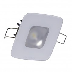 Lumitec Square Mirage Down Light - Spectrum RGBW Dimming - Glass Housing - No Bezel