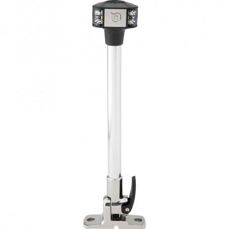 Attwood LightArmor Fold-Down Anchor-Masthead Light - 12- - 12V