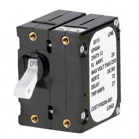 Paneltronics -A- Frame Magnetic Circuit Breaker - 50 Amps - Double Pole
