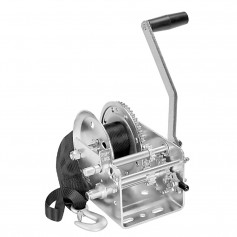 Fulton 2600lb 2-Speed Winch w-20- Strap