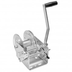 Fulton 2600lb 2-Speed Winch w-Hand Brake