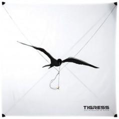Tigress Specialty Lite Wind Kite - White