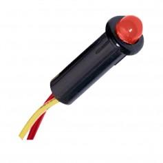 Paneltronics LED Indicator Light - Red - 240 VAC - 1-4-