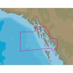 C-MAP NT- NA-C810 Dixon Entrance to Chatham Strait - C-Card Format
