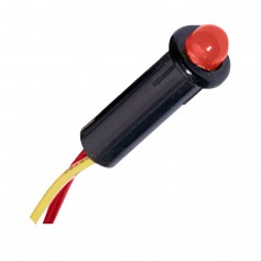 Paneltronics LED Indicator Light - Red - 24 VDC - 5-32-