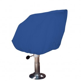 Taylor Made Helm-Bucket-Fixed Back Boat Seat Cover - Rip-Stop Polyester Navy