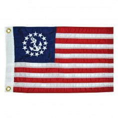 Taylor Made 12- x 18- Deluxe Sewn US Yacht Ensign Flag