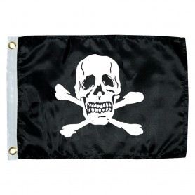 Taylor Made 12- x 18- Jolly Roger Novelty Flag