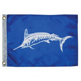 Taylor Made 12- x 18- White Marlin Flag