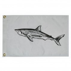 Taylor Made 12- x 18- Shark Flag