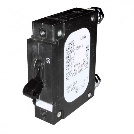 Paneltronics -C- Frame Magnetic Circuit Breaker - CE - 50 Amp - Single Pole