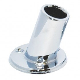 Taylor Made 1- Slanted Chrome Plated Flag Pole Socket