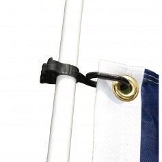 Taylor Made Charlevoix Burgee and Antenna Cli -Pair-