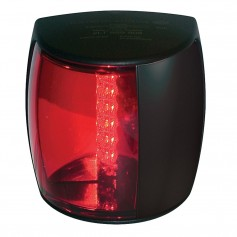 Hella Marine NaviLED PRO Port Navigation Lamp - 2nm - Red Lens-Black Housing