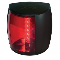 Hella Marine NaviLED PRO Port Navigation Lamp - 3nm - Red Lens-Black Housing