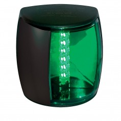 Hella Marine NaviLED PRO Starboard Navigation Lamp - 3nm - Green Lens-Black Housing