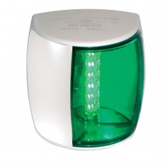 Hella Marine NaviLED PRO Starboard Navigation Lamp - 3nm - Green Lens-White Housing
