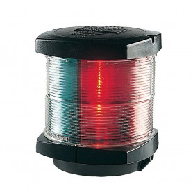 Hella Marine Tri-Color Navigation Light - Incandescent - 2nm - Black Housing - 12V