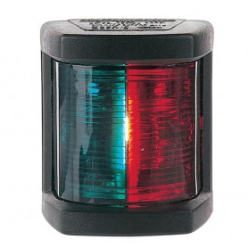 Hella Marine Bi-Color Navigation Lamp- Incandescent - 1nm - Black Housing - 12V