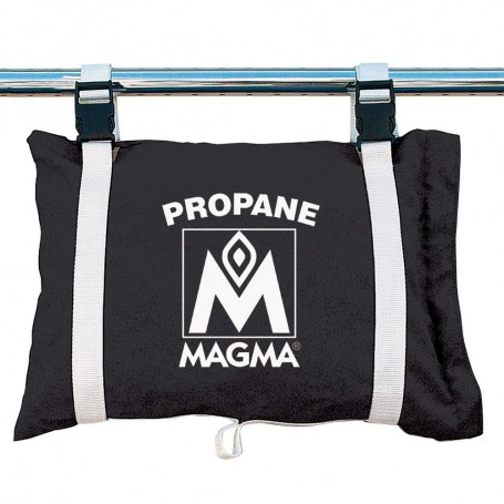 MagmaPropane -Butane Canister Storage Locker-Tote Bag - Jet Black