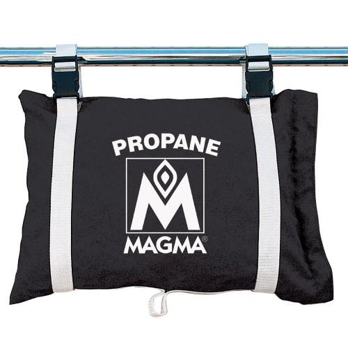 MagmaPropane -Butane Canister Storage Locker-Tote Bag - Jet Black