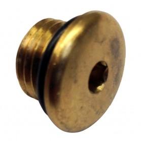 Uflex Brass Plug w-O-Ring for Pumps