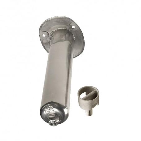 C-E- Smith Stainless Steel Flush Mount Rod Holder - 0 Degree