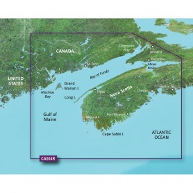Garmin BlueChart g3 Vision HD - VCA004R - Bay of Fundy - microSD-SD