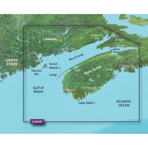 Garmin BlueChart g2 Vision HD - VCA004R - Bay of Fundy - microSD-SD