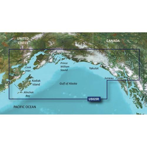 Garmin BlueChart g2 Vision HD - VUS025R - Anchorage - Juneau - microSD-SD