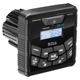 Boss Audio MGR450B In-Dash Marine Gauge Digital Media Bluetooth Audio Streaming AM-FM Receiver