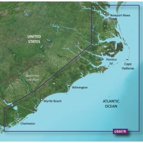 Garmin BlueChart g3 Vision HD - VUS007R - Norfolk - Charleston - microSD-SD