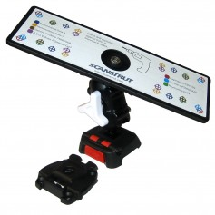 Scanstrut ROKK Mini Universal Mount Kit w-Universal Self-Drill Top Plate- Adjustable Arm Screw Down Surface Base