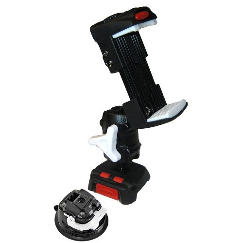 Scanstrut ROKK Mini Kit w-Universal Phone Clamp- Adjustable Arm Mini Suction Cup Base