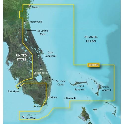 Garmin BlueChart g2 Vision HD - VUS009R - Jacksonville - Key West - microSD-SD