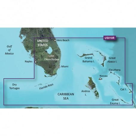Garmin BlueChart g3 Vision HD - VUS010R - Southeast Florida - microSD-SD