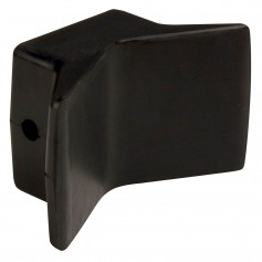 C-E- Smith Bow Y-Stop - 4- x 4- - Black Natural Rubber