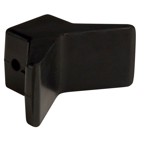 C-E- Smith Bow Y-Stop - 3- x 3- - Black Natural Rubber