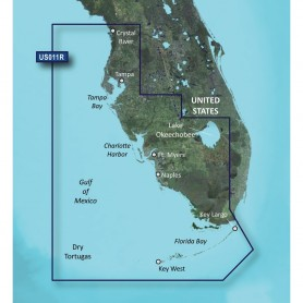 Garmin BlueChart g3 Vision HD - VUS011R - Southwest Florida - microSD-SD