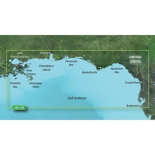 Garmin BlueChart g3 Vision HD - VUS012R - Tampa - New Orleans - microSD-SD