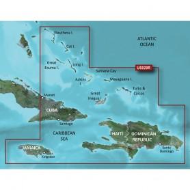Garmin BlueChart g3 Vision HD - VUS029R - Southern Bahamas - microSD-SD
