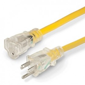 Marinco 14-3 Lighted Extension Cord - Non-Locking - 15A - 50-