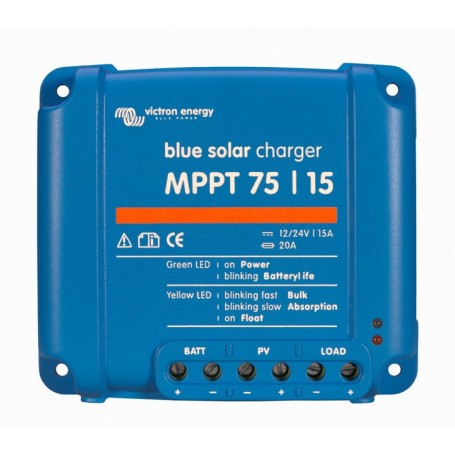 Victron BlueSolar MPPT 75/15 15 Amp Solar Charge Controller Regulator