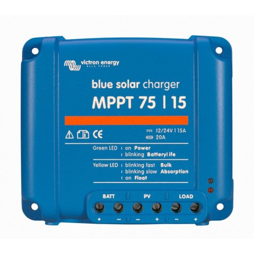 Victron BlueSolar MPPT 75/15 15 Amp Solar Charge Controller Regulator