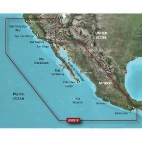 Garmin BlueChart g3 Vision HD - VUS021R - California-Mexico - microSD-SD