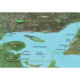 Garmin BlueChart g3 Vision HD - VCA007R - Les Mechins - St- Georges Bay - microSD-SD