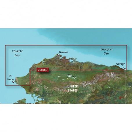 Garmin BlueChart g3 Vision HD - VUS035R - North Slope Alaska - microSD-SD