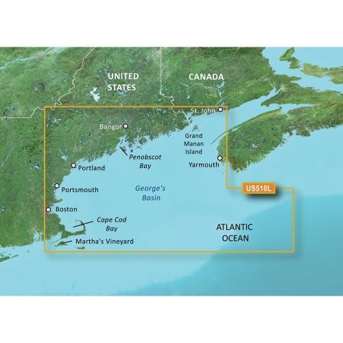 Garmin BlueChart g3 Vision HD - VUS510L - St- John - Cape Cod - microSD-SD