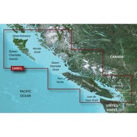 Garmin BlueChart g3 Vision HD - VCA501L - Vancouver Island - Dixon Entrance - microSD-SD