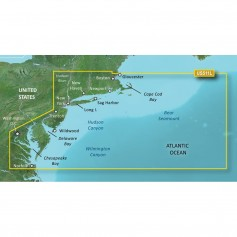 Garmin BlueChart g3 Vision HD - VUS511L - Boston - Norfolk - microSD-SD